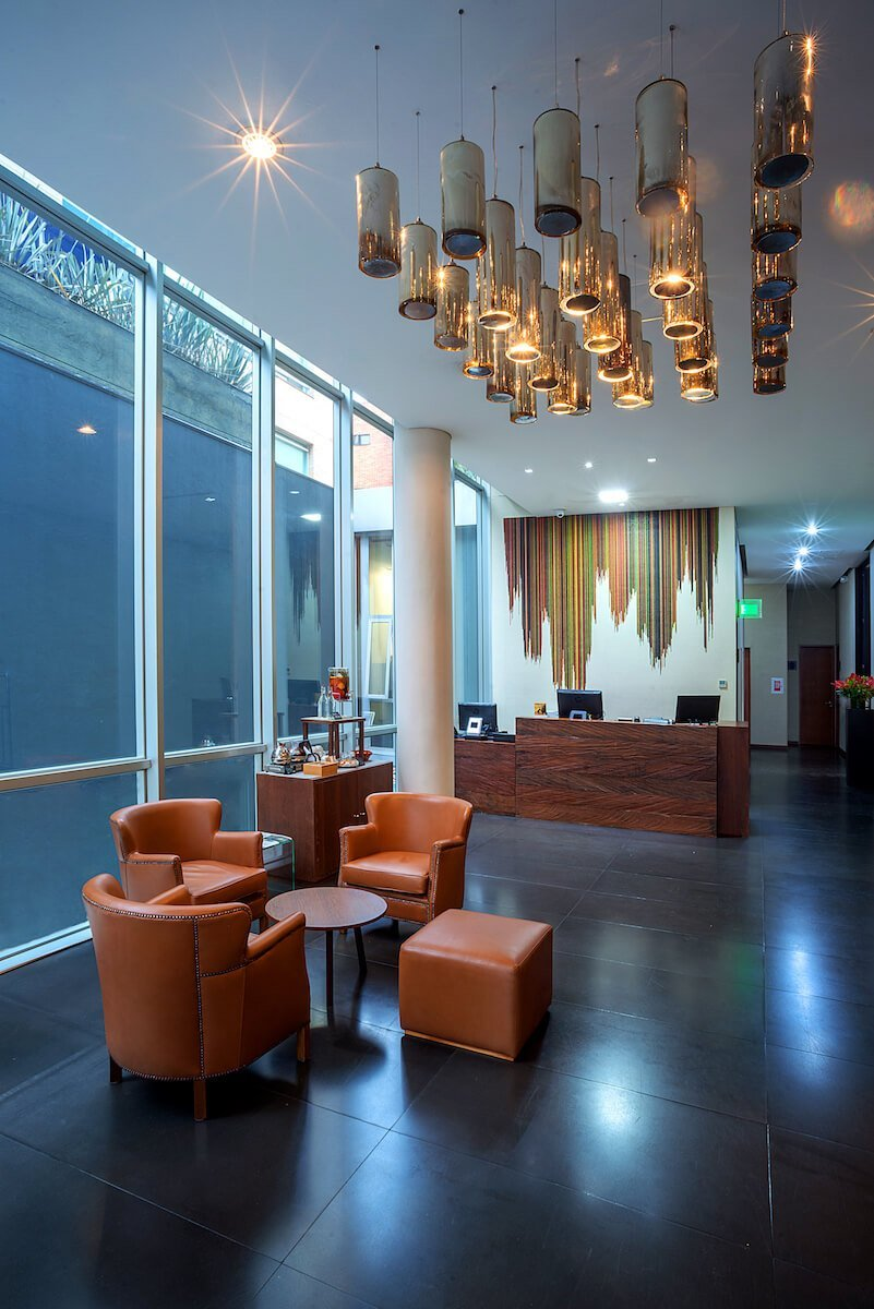 Lobby Hotel GHL Collection 93