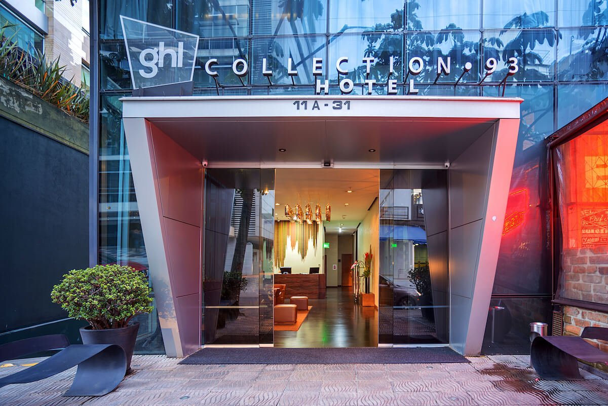 fachada Hotel GHL Collection 93
